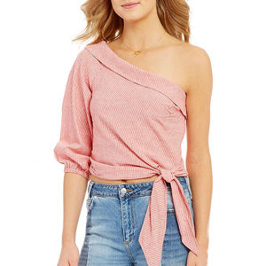 New with tag Free People Get Down One Shouder Top